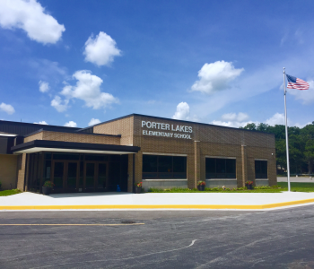 The Porter Lakes Elementary Building